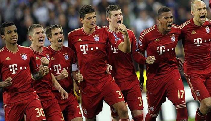 Top Bundesliga Club Marktwerte Bayern